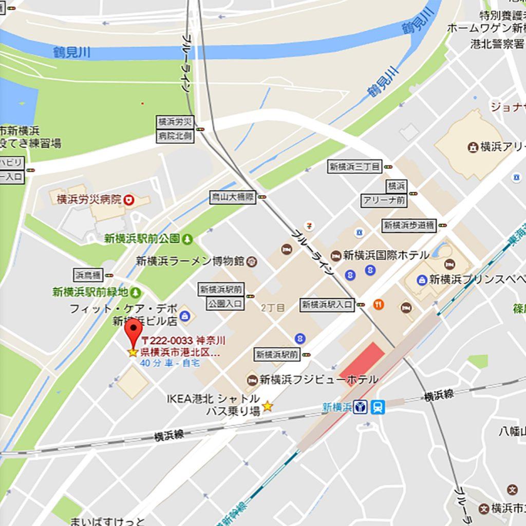 〒222-0033 神奈川県横浜市港北区新横浜2丁目17−1